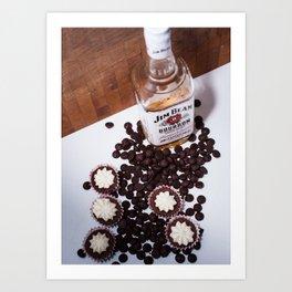 Dark Chocolate and Bourbon Art Print