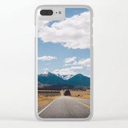 Road to Arthur's Pass II Clear iPhone Case