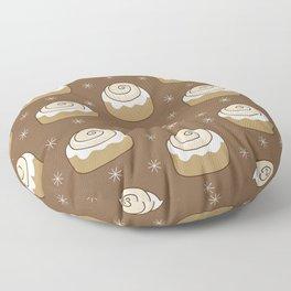 Cinnamon Bun Floor Pillow