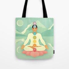 Sacred World: Chakras Tote Bag