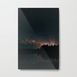 Starry nightlights Metal Print