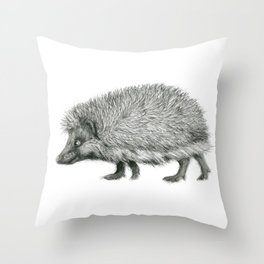 Funny Hedgehog SK050 Throw Pillow