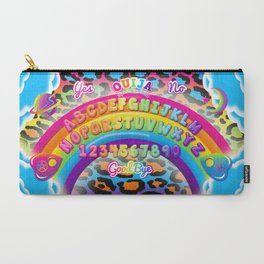 1997 Neon Rainbow Ouija Board Carry-All Pouch