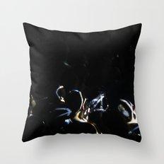 People & light Throw Pillow