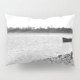 Lakescape Monochrome Pillow Sham