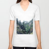 adventure V-neck T-shirts featuring Adventure by Sney1