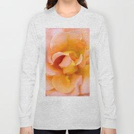 Orange ,Rosa Rose Long Sleeve T-shirt