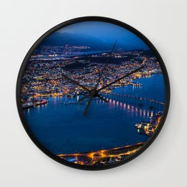 Panoramic Tromso Wall Clock