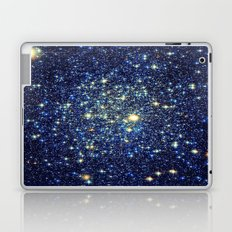 galaxY Stars : Midnight Blue & Gold Laptop & iPad Skin