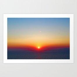 Live By The Sun 2 Art Print