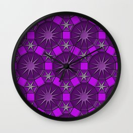 Dodecagons Wall Clock