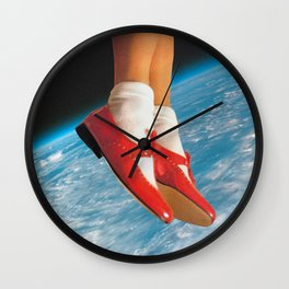 The shoes Wall Clock