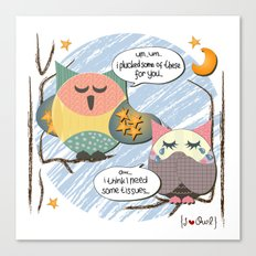 I {❤} OWL Canvas Print