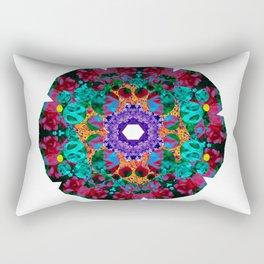 Flower Eye Rectangular Pillow