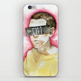 Watercolor drawing iPhone Skin