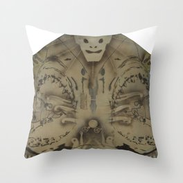 HeadBored Throw Pillow