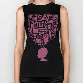 Head the girl clothes Biker Tank