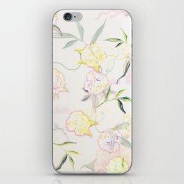 Pastel Hydrangea iPhone Skin