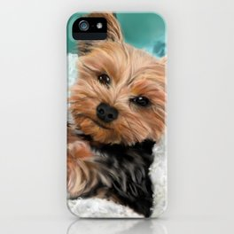 Chewie the Yorkie iPhone Case