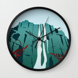 Salto Angel Wall Clock