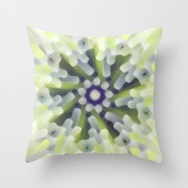 Bright Modern Star Throw Pillow