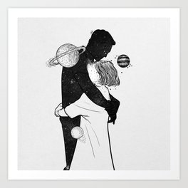 The world inside you. Art Print