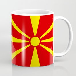 Macedonian national flag Coffee Mug