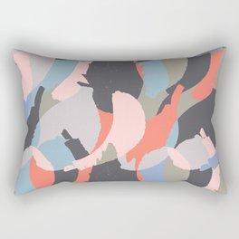 Modern abstract print Rectangular Pillow