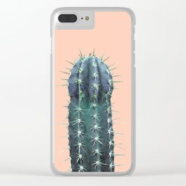 Cactus Illustration Clear iPhone Case