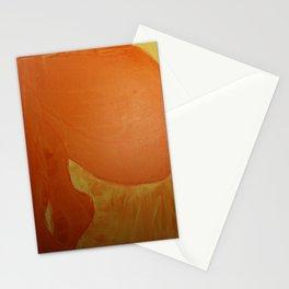 Dariusz Stolarzyn Orange, Oil Painting Stationery Cards
