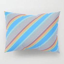 Summer Inclined Stripes Pillow Sham