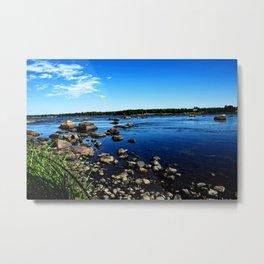 Kukkola river 2 Metal Print
