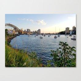 Lavender Bay Canvas Print