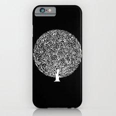 Black and White Tree Slim Case iPhone 6s