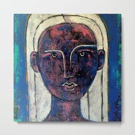 Pondering Dreams - It is all an illusion Painting by Robert EROD artist art Metal Print