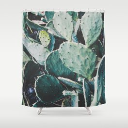 Wild cactus Shower Curtain