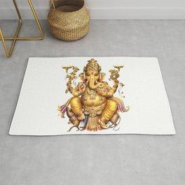 Ganesha - Hindu Rug