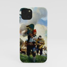 """""""Pirates With Their Plunder"""" by NC Wyeth iPhone Case"""