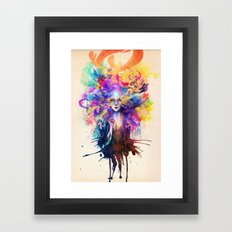 Divine in You Framed Art Print