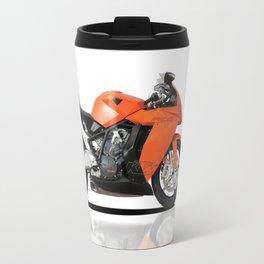 KTM RC8 motorbike Travel Mug