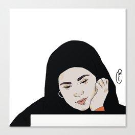 Sana in love Canvas Print