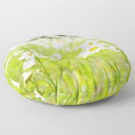 Daisy Meadow Floor Pillow