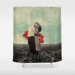 NeverForever Shower Curtain