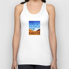 WE ARE A PEOPLE OF FAITH (Hebrews 11) Unisex Tank Top