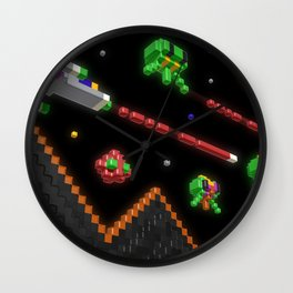 Inside Defender Wall Clock