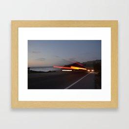 Along the Highway Framed Art Print