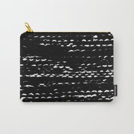 Negative Needlework Carry-All Pouch