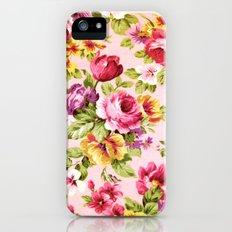 VINTAGE FLOWERS XXVI - for iphone iPhone SE Slim Case