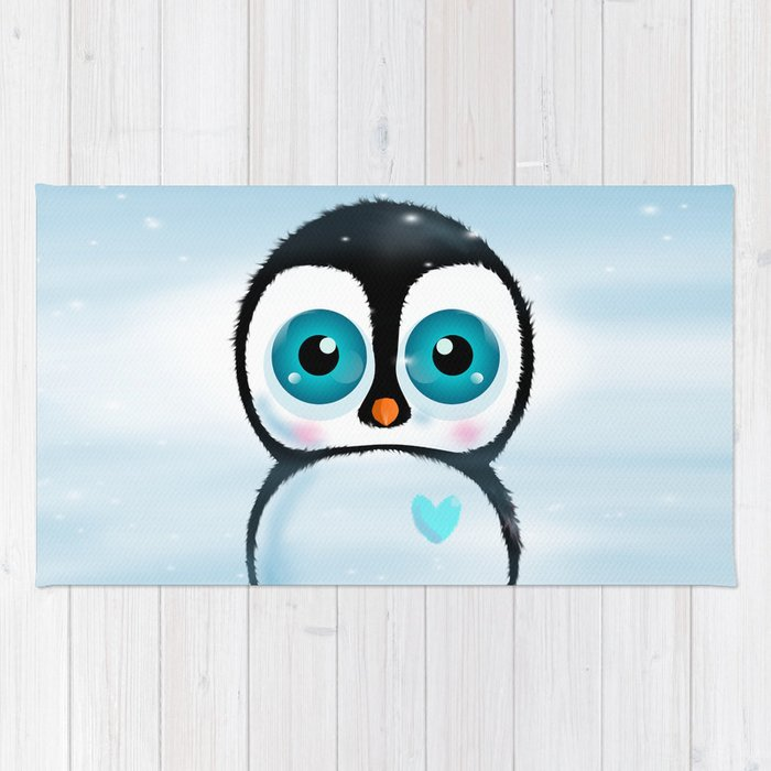 Joc the Penguin Rug