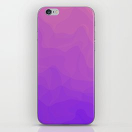 Pink and Purple Ombre - Swirly iPhone Skin